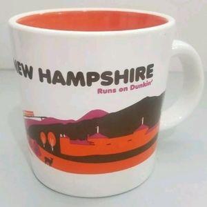 Dunkin Donuts Coffee Mug CupNew Hampshire